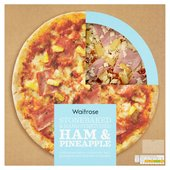Waitrose Italian Style Ham & Pineapple Pizza
