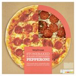Waitrose Stonebaked Pepperoni Pizzeria Pizza