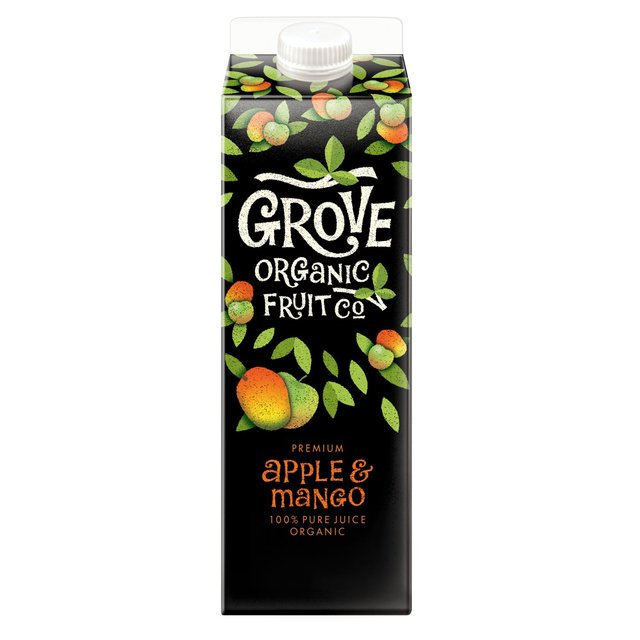Grove Organic Fruit Co. Apple & Mango Juice