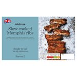 Waitrose Slow Cooked Memphis Pork Ribs