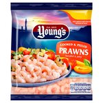 Young's Cooked & Peeled Prawns Frozen