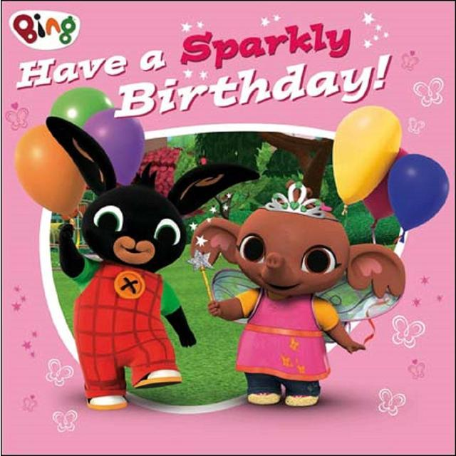 Bing Sparkly Birthday Card from Ocado – Cbeebies Birthday Cards Youtube