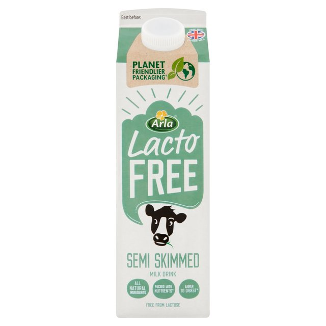 Lactofree Fresh Semi Skimmed Milk