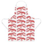 Thornback & Peel Lobster Apron, Coral