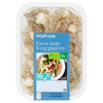 Waitrose Raw Extra Large King Prawns