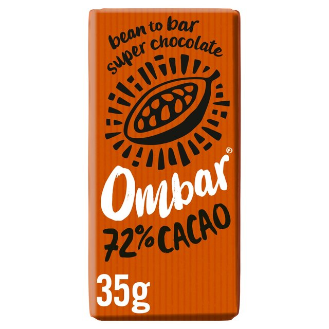 Ombar Dark 72% Raw Chocolate Bar