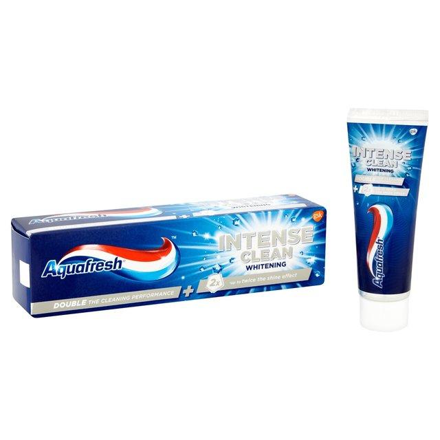 Aquafresh Intense Clean Whitening Toothpaste 75ml from Ocado