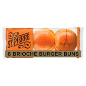 St Pierre Sliced Brioche Burger Buns