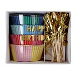 Meri Meri 'Happy Birthday' Cupcake Kit