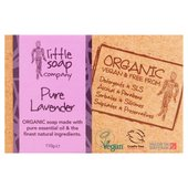 Little Soap Co Organic Lavender Bar Soap