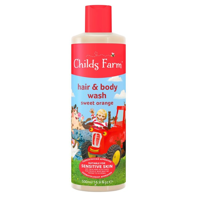 Childs Farm Hair & Body Wash  Sweet Orange