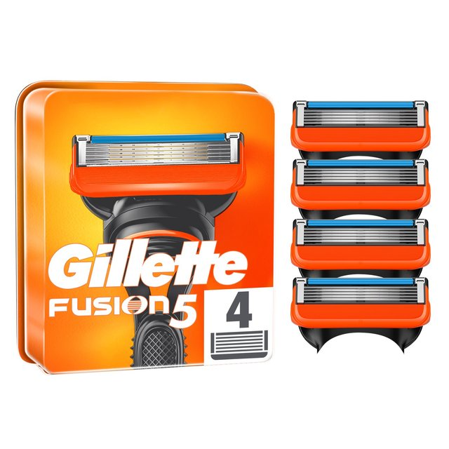 gillette fusion manual razor blades pack of 10