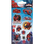 Spiderman Foil Stickers, 3yrs+