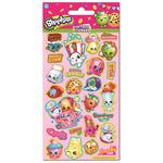 Shopkins Small Foil Stickers, 3yrs+