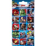 Marvel Avengers Captions Foil Stickers, 3yrs+
