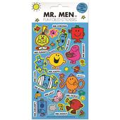Mr Men Foil Stickers, 3yrs+