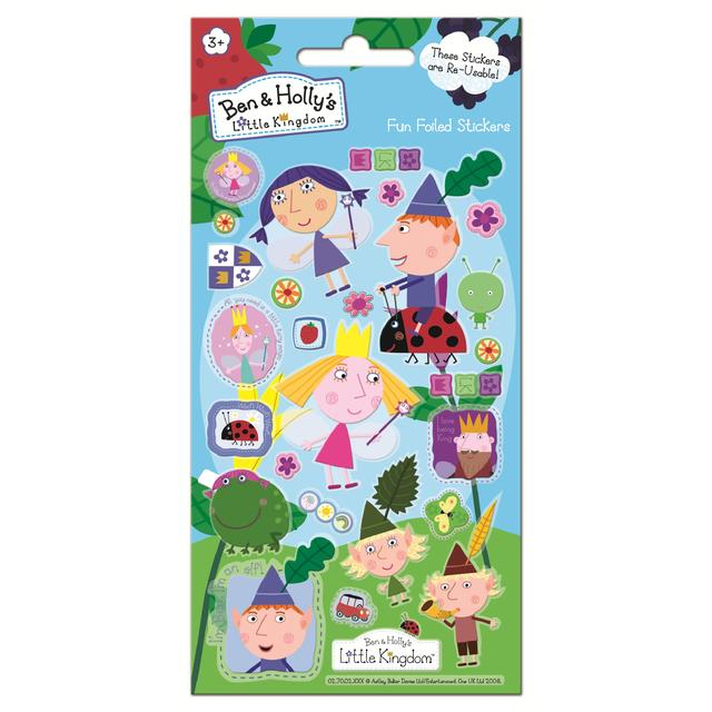 Ben & Holly Stickers, 3yrs+