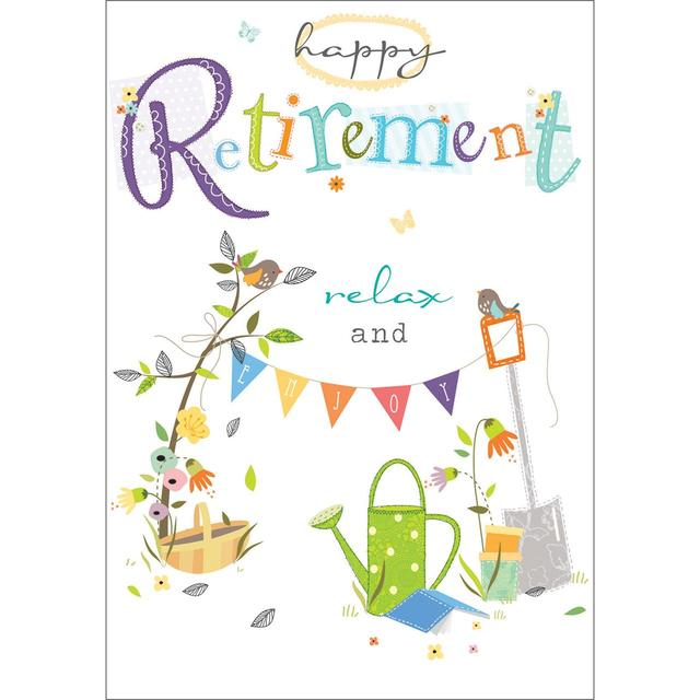 Retirement card from ocado retirement card m4hsunfo