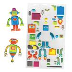 Build a Robot Stickers, 3yrs+