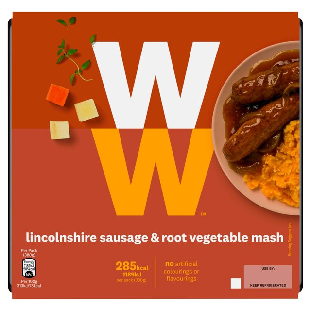 weight watchers sausages mash 380g from ocado