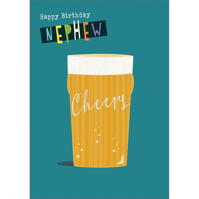 Nephew Happy Birthday Card from Ocado – Birthday Cards for Nephew