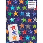 Star Birthday Gift Wrap Sheets