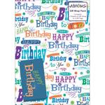 Happy Birthday Greetings Gift Wrap