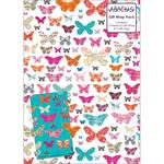 Butterfly Collage Gift Wrap Sheets