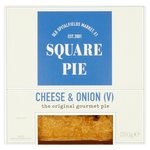 Square Pie Cheese & Onion Classic Pie