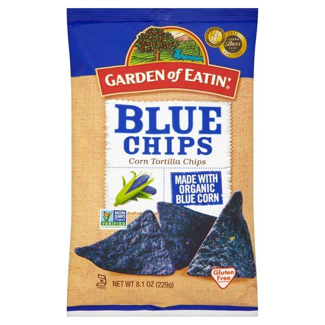 Garden Of Eatin Blue Corn Tortilla Chips 229g from Ocado