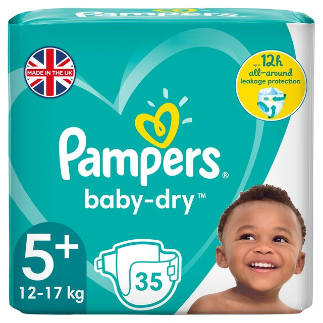 Pampers Premium Protection Size 5 Essential Pack 35 Nappies