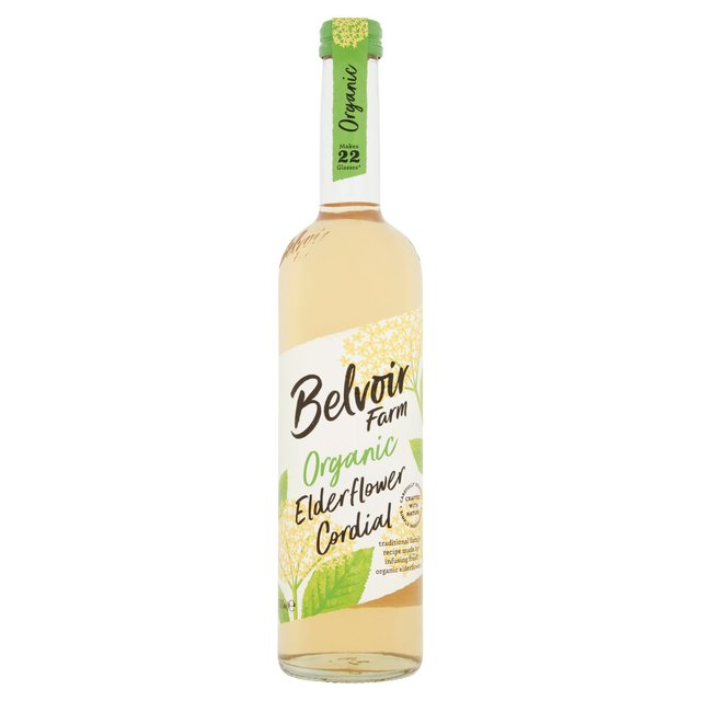 Belvoir Organic Elderflower Cordial 500ml from Ocado