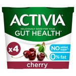 Activia 0% Fat Cherry Yogurts