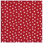 Red Christmas Dots 3ply Paper Napkins, 33cm