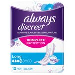 Always Discreet Incontinence Pads Long