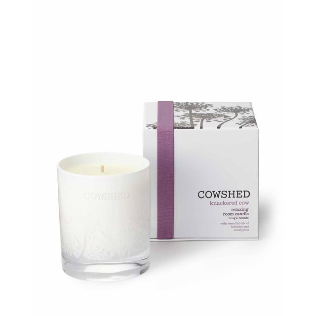 Cowshed Knackered Cow Lavender & Eucalyptus Candle