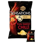 Sensations Thai Sweet Chilli Crisps 25g x