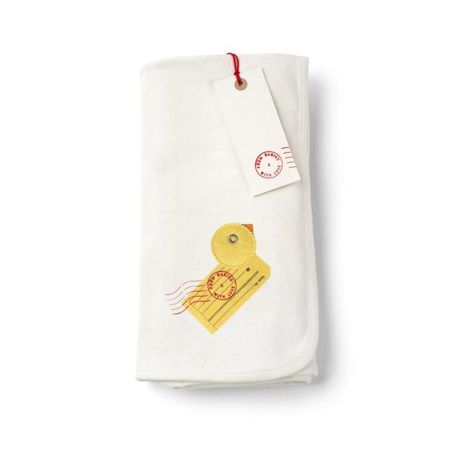 From Babies with Love Duck Reversible Swaddling Blanket