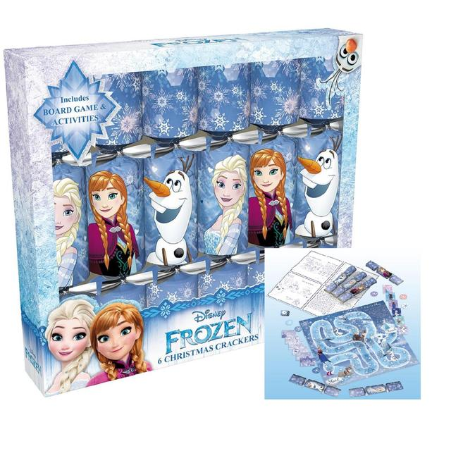 Christmas Crackers Cartoon.Disney Frozen Christmas Crackers