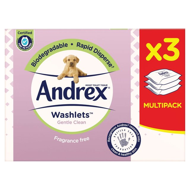 Andrex Gentle Clean Washlets