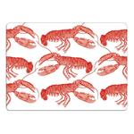 Thornback & Peel Placemat Set of 4 - Lobster, Coral
