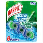 Harpic Fresh Power White & Shine 6 Block Forest Dew