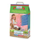 Cat's Best Universal Strawberry Non-Clumping Cat Litter & Small Pet Bedding