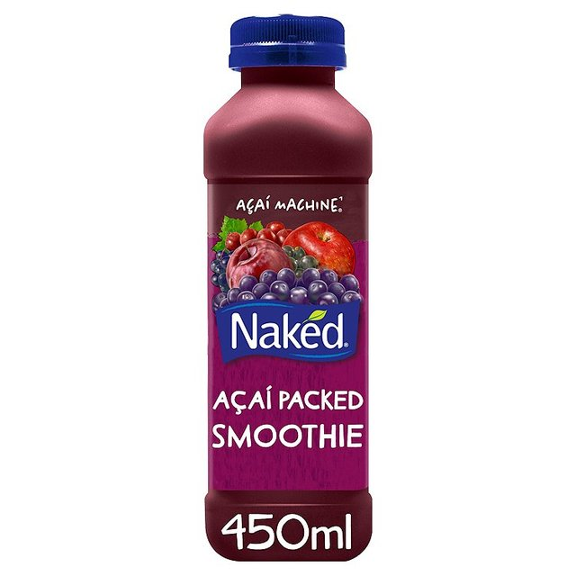 naked acai machine juice smoothie 450ml from ocado. Black Bedroom Furniture Sets. Home Design Ideas