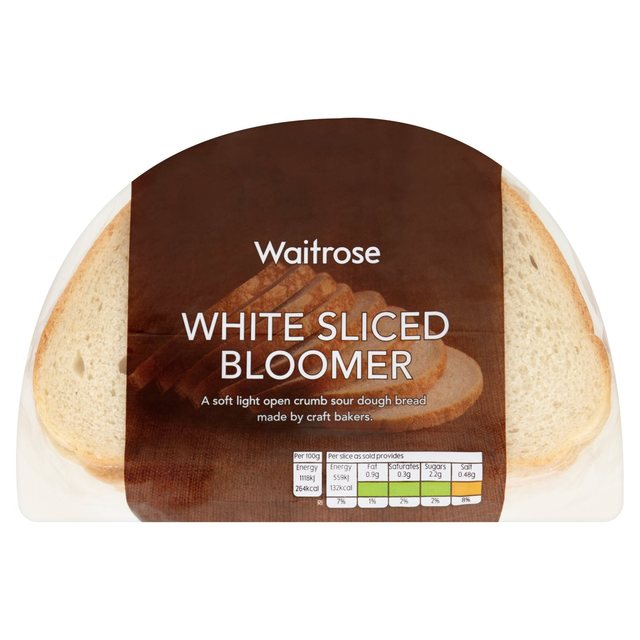 White Sliced Bloomer Waitrose