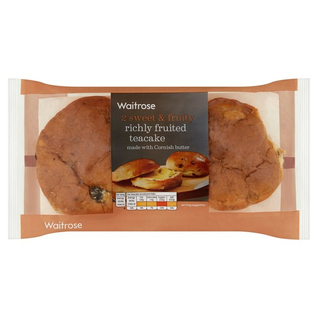 Waitrose Richly Fruited Teacake