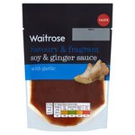 Waitrose Soy & Ginger Stir Fry Sauce with Garlic