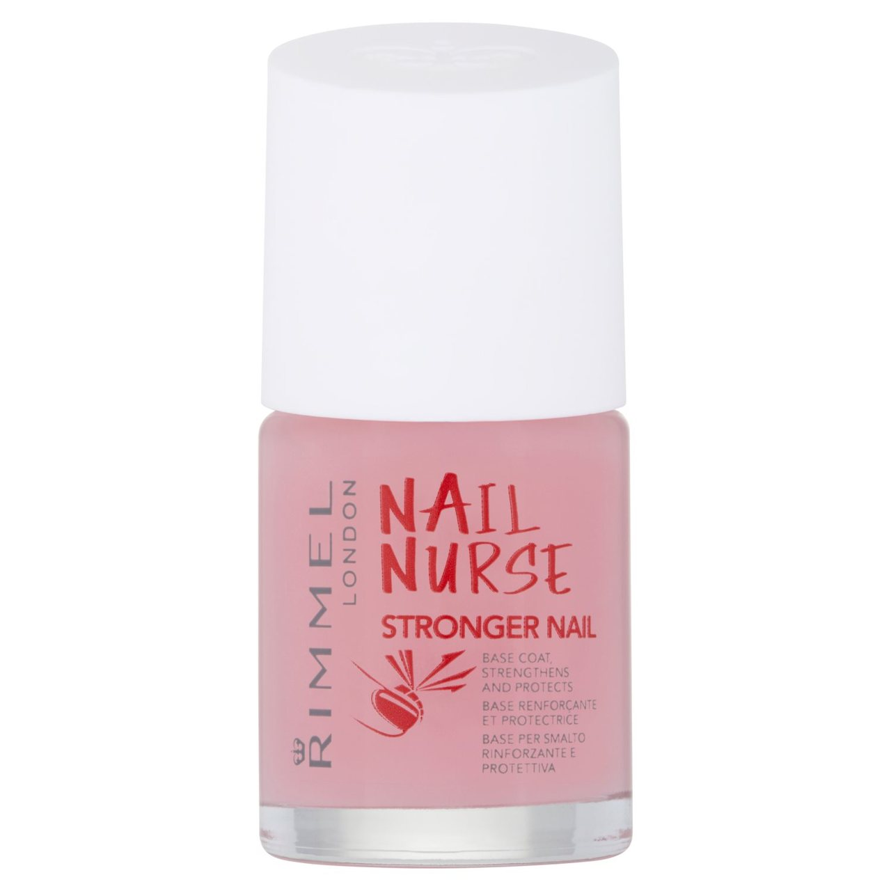 An image of Rimmel Nail Nurse Stronger Nail