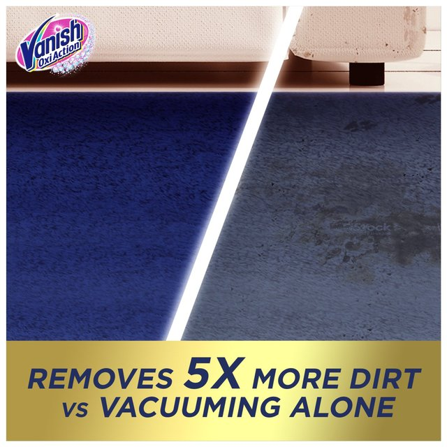 Vanish Gold Rug Amp Carpet Cleaner Powder 500g From Ocado