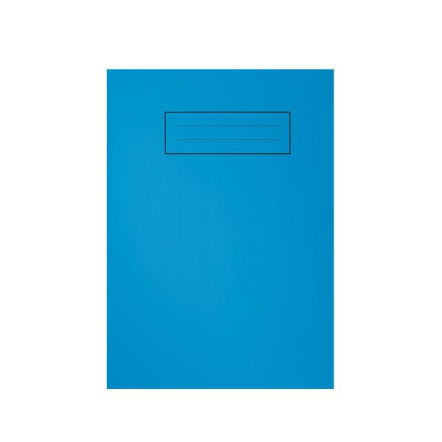 Exercise Book Cover Paper : A bright blue exercise book from ocado